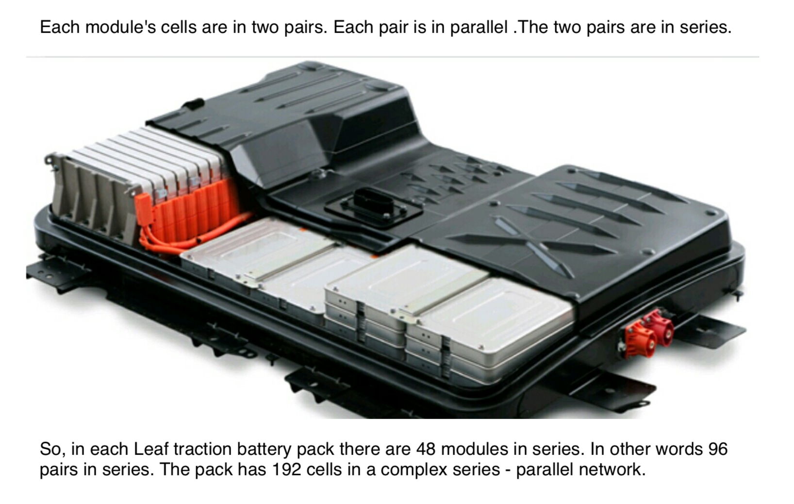 Nissan Leaf Battery Design and Maintenance